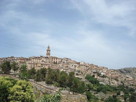 turismo de cercanía en Valencia, vistas de Bocairent