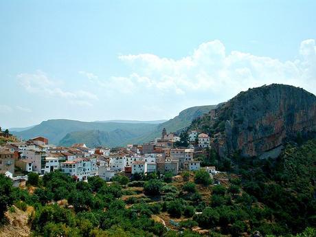 turismo de cercanía en Valencia, vistas de Chulilla