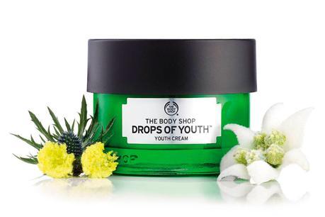 Drops of Youth, concentrado y crema de juventud de The Body Shop