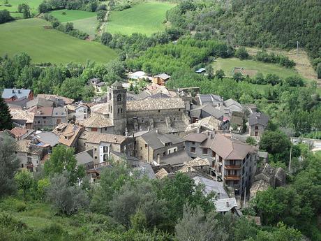 turismo de cercanía en Huesca vistas de Boltaña