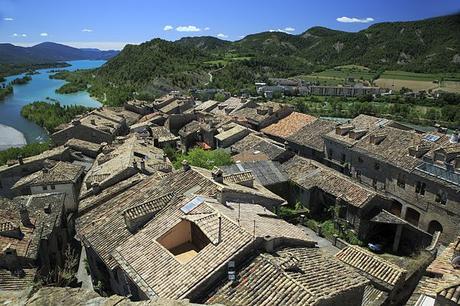 turismo de cercanía en Huesca vistas de Ainsa