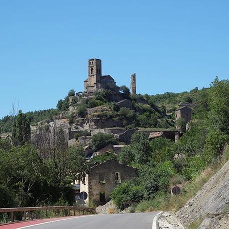turismo de cercanía en Huesca vistas de Montañana
