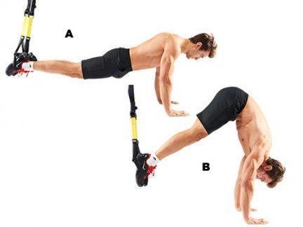 ejercicios trx abdominales
