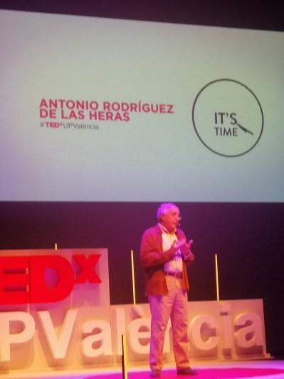 El futuro es un lugar (en el que siempre vivirá Antonio Rodriguez de las Heras)