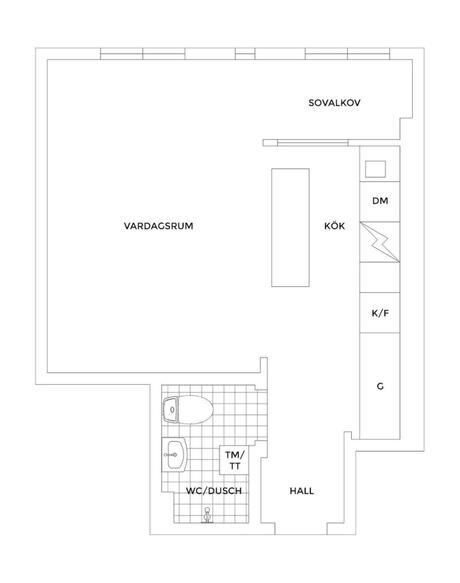 Un estudio de 37 m2 bien distribuidos y repletos de encanto