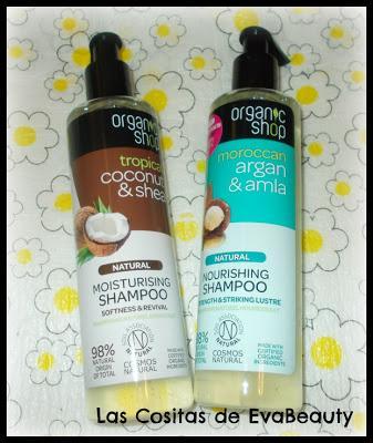 Champús con dosificador cosmetica natural low cost organic shop notino