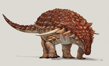 ¿Qué comía este anquilosaurio?