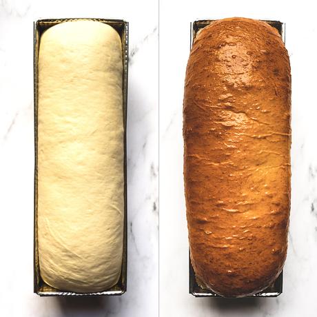 Cómo hacer pan lactal