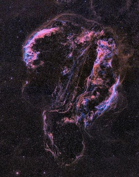 La preciosa Nebulosa del Velo