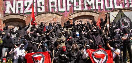 antifa: la historia negra de la izquierda radical