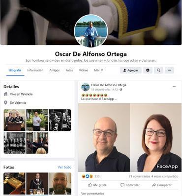 Nuevo acto escandaloso, del Gran Maestro Oscar de Alfonso Ortega