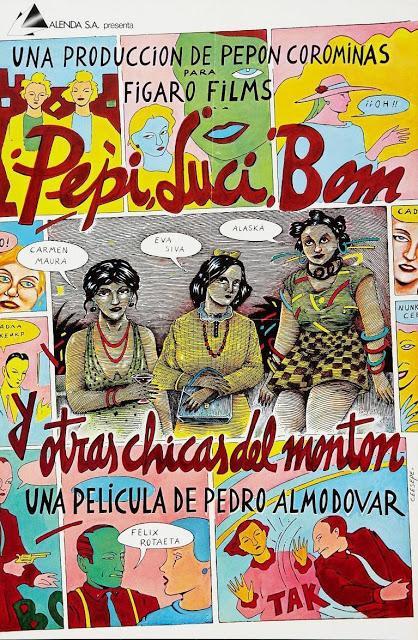 Pepi, Luci, Bom y otras chicas del montón - Almodovar