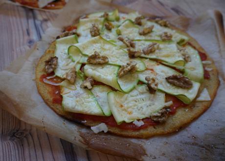 Pizza con base de patata