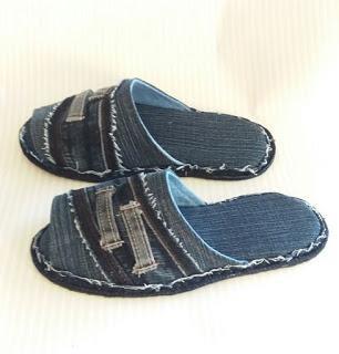 Haz unas hermosas sandalias reciclando pantalones de mezclilla