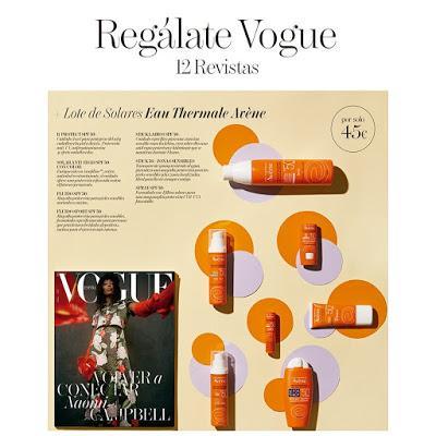 Suscripción Revista femenina Vogue julio noticias moda y belleza