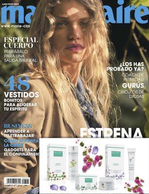 Suscripción Revista femenina Marie Claire julio noticias belleza y moda