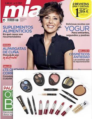 Suscripción Revista femenina Mia julio noticias belleza y moda