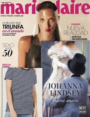 Revista Marie Claire y regalos julio noticias moda y belleza