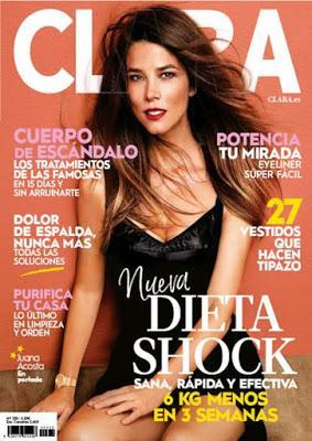 Revista femenina Clara julio 2020 noticias moda y belleza