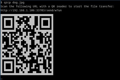 Cómo transferir archivos a través de Wi-Fi desde nuestro PC al móvil escaneando un código QR