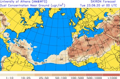 Llegó al Caribe el polvo del desierto de Sahara que se había pronosticado, pero ¿hasta cuándo lo tendremos en nuestra zona?