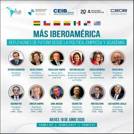 Más Iberoamérica. Reflexiones de futuro desde la política, empresa y academia