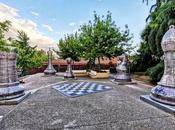 jardines Pablo Sorozábal: ajedrez gigante Madrid