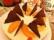 Tarta Mousse Melocotón Chocolate