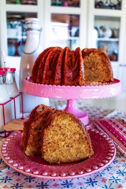 Lemon Curd Bundt Cake