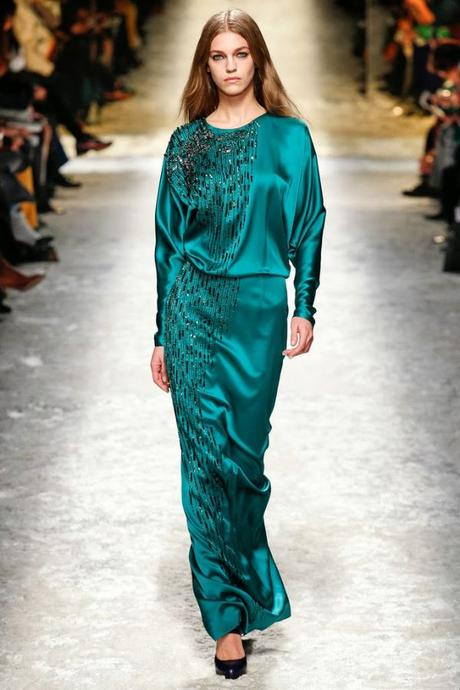 Verde Esmeralda vestido