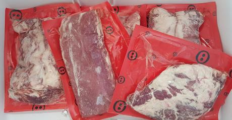 los cortes de cerdo ibérico Intactos de Joselito