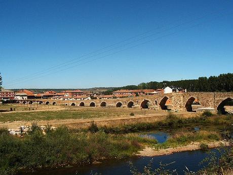 turismo de cercanía en León, vistas de Hospital de Órbigo