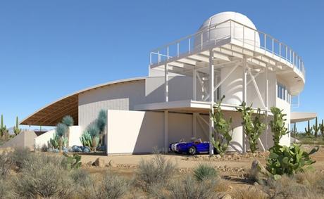 Una de las casas muy modernas de flynn architecture & design en Arizona.