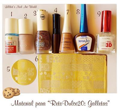 Reto Dulce20: Galletas