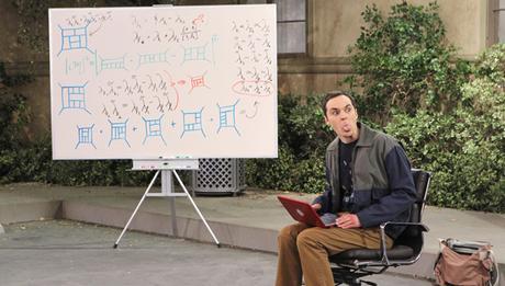 Cómo Estudiar Física - Dibujo Sheldon