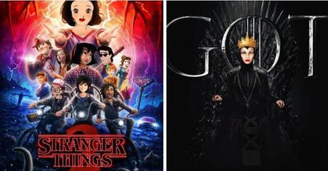 Asi serian las Princesas Disney si fueran las protagonistas de tus series favoritas