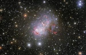 Retrato estelar de una galaxia