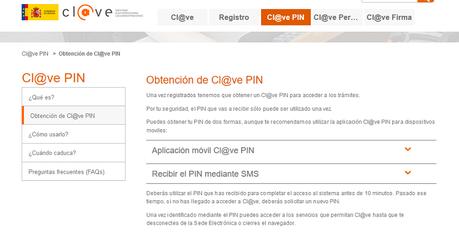 Guía para obtener la Cl@ve PIN