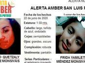 Alerta Amber: desaparecen niñas años Soledad