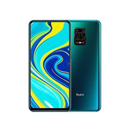 "XIAOMI Redmi Note 9S - Smartphone con Pantalla 6,67"" FHD+ DotDisplay (Snapdragon 720G, 6+128GB, Cámara cuádruple de 48MP, 5020mAh, Sensor de Huella Lateral) Azul Aurora [Versión Internacional]"