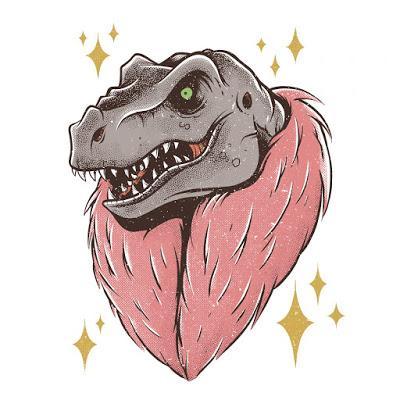 Los dinosaurios pop de Buba Viedma