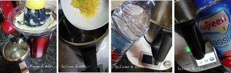 Granizado de limón sin azúcar