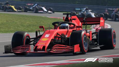 F1 2020 muestra el aspecto del circuito de Hungagoring