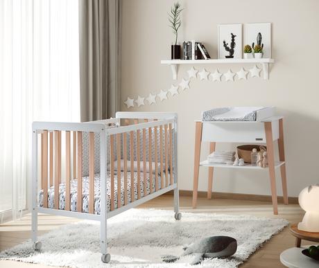 Cuna Nordika de Micuna, diseña la habitación de tu bebé