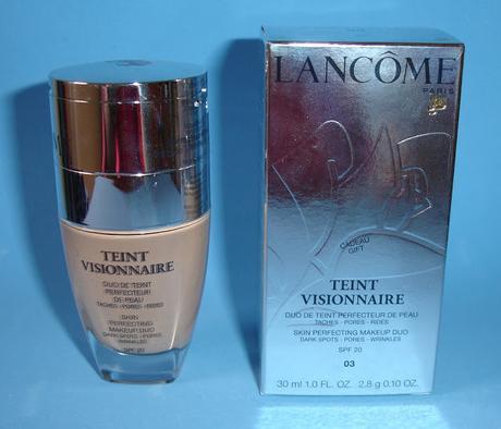 Teint Visionnaire de Lancome: base y corrector en un solo producto.