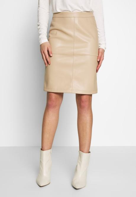 Falda Vaquera Blanca Desigual