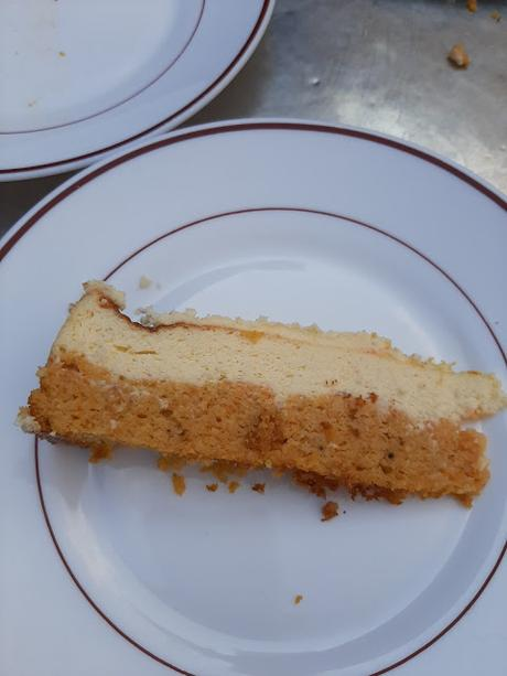 CARROT + CHEESE CAKE