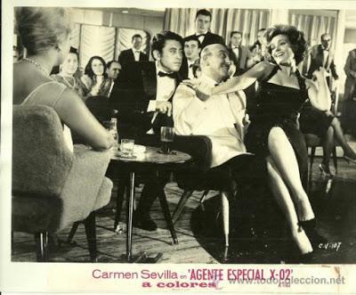CRUCERO DE VERANO (España, 1964) Comedia