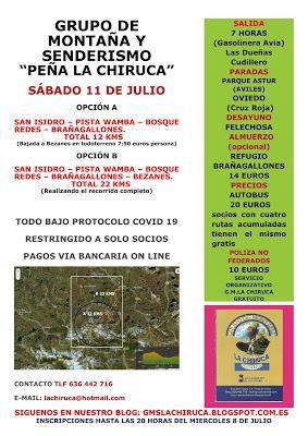 RUTA SAN ISIDRO - BOSQUE DE REDES - BRAÑAGALLONES - BEZANES