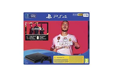 PlayStation 4 (PS4) +FIFA20/FUTVCH/PS y 14 días VCH/PS4 1TBF/SPA, Slim 1TB